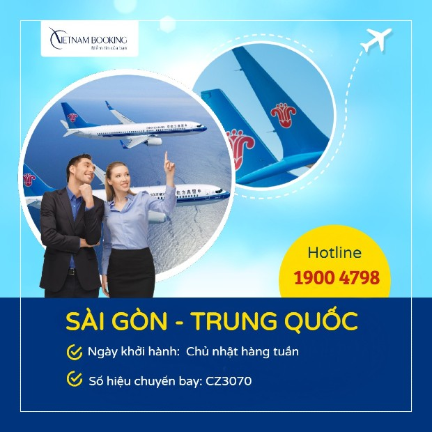 Vé máy bay từ Việt Nam đi Trung Quốc giá rẻ