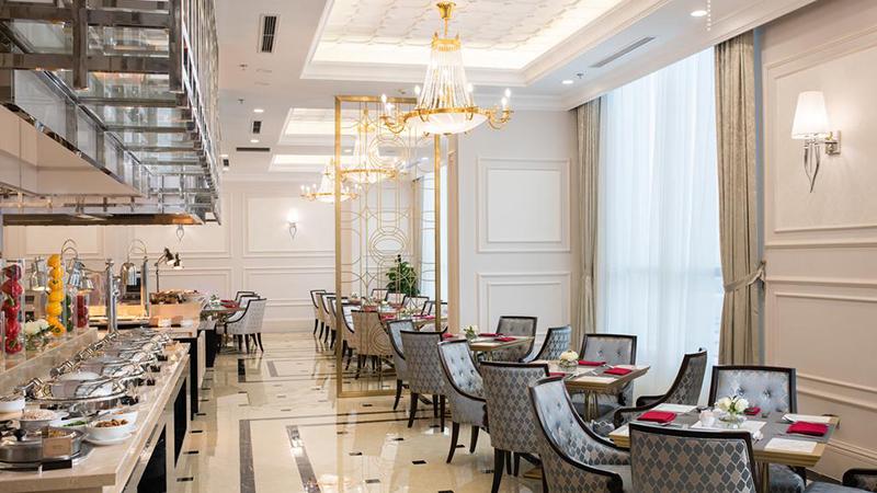 khu ẩm thực Khách sạn Vinpearl Tây Ninh