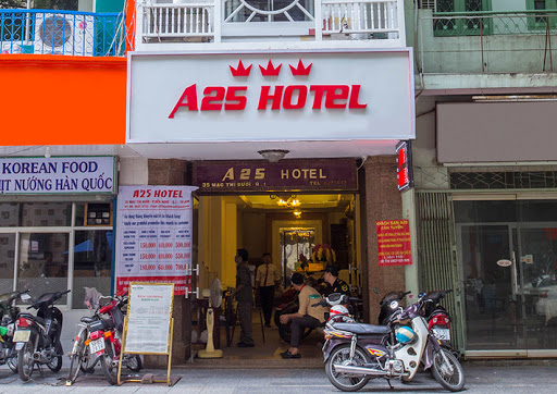 Giá thuê phòng Khách sạn A25 Mạc Thị Bưởi quận 1