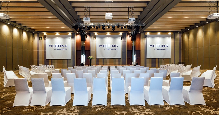 Phòng họp tại Resort Novotel Phú Quốc