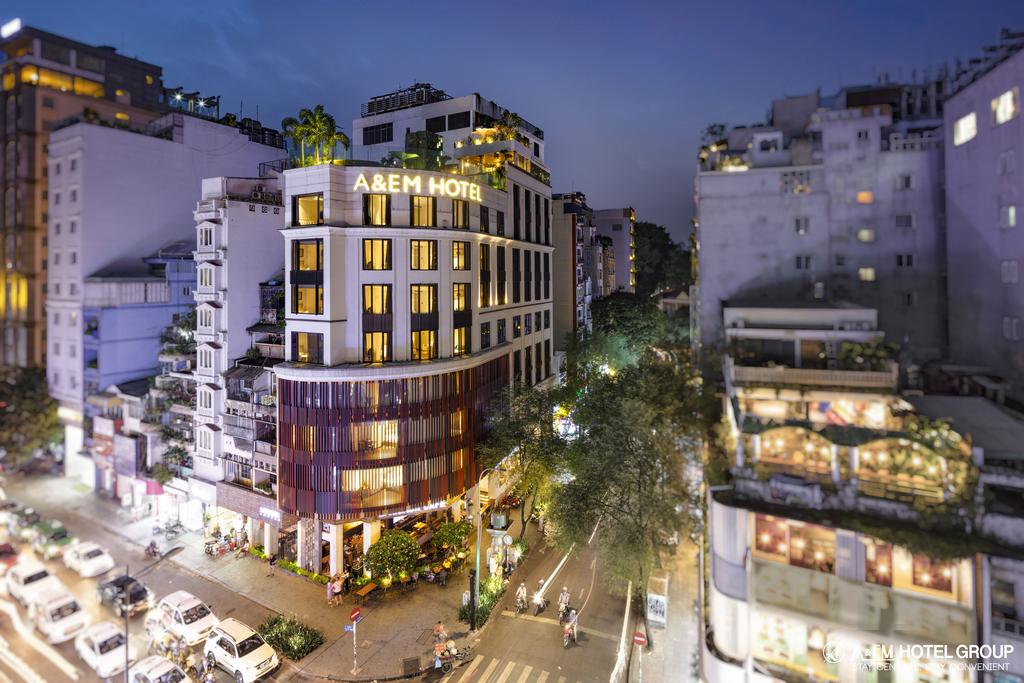 Khám phá A&Em Saigon Hotel quận 1