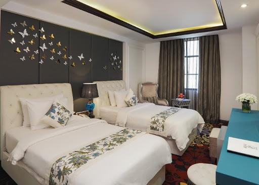 Phòng 2 giường đơn a&em saigon hotel