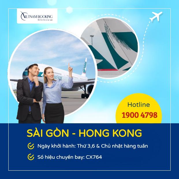 vé máy bay từ sài gòn đi hong kong giá rẻ