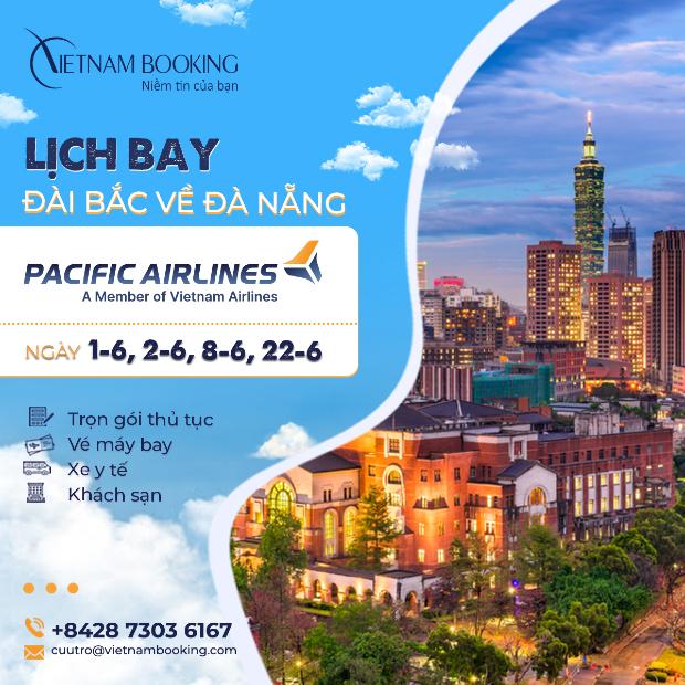 Vé máy bay từ Đài Bắc về Đà Nẵng
