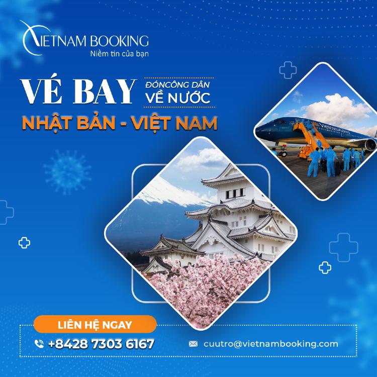 Vé máy bay từ Tokyo về Đà Nẵng