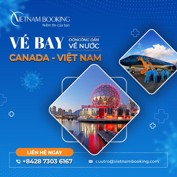 Vé máy bay từ Toronto về Sài Gòn giá rẻ
