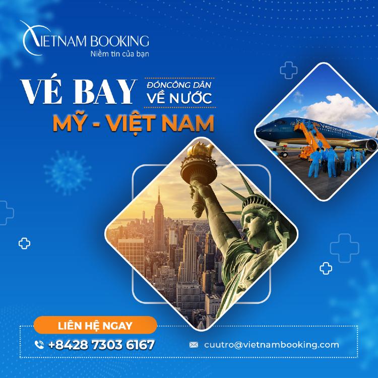 Vé máy bay từ Washington về Sài Gòn